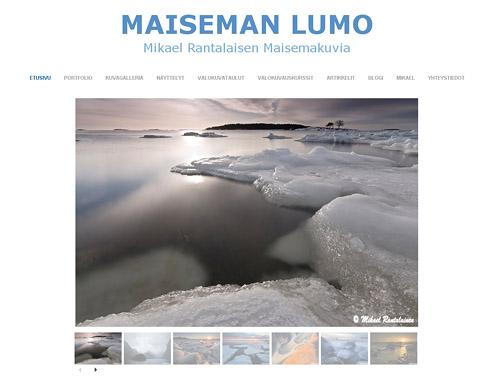 Maiseman Lumo: Maisemakuvia Suomesta ja maailmalta.