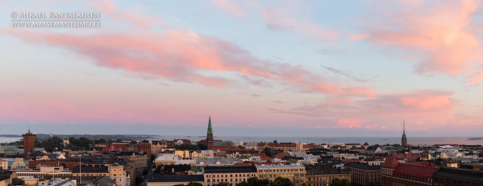 Näkymä Hotelli Tornista, Helsinki (HP115)