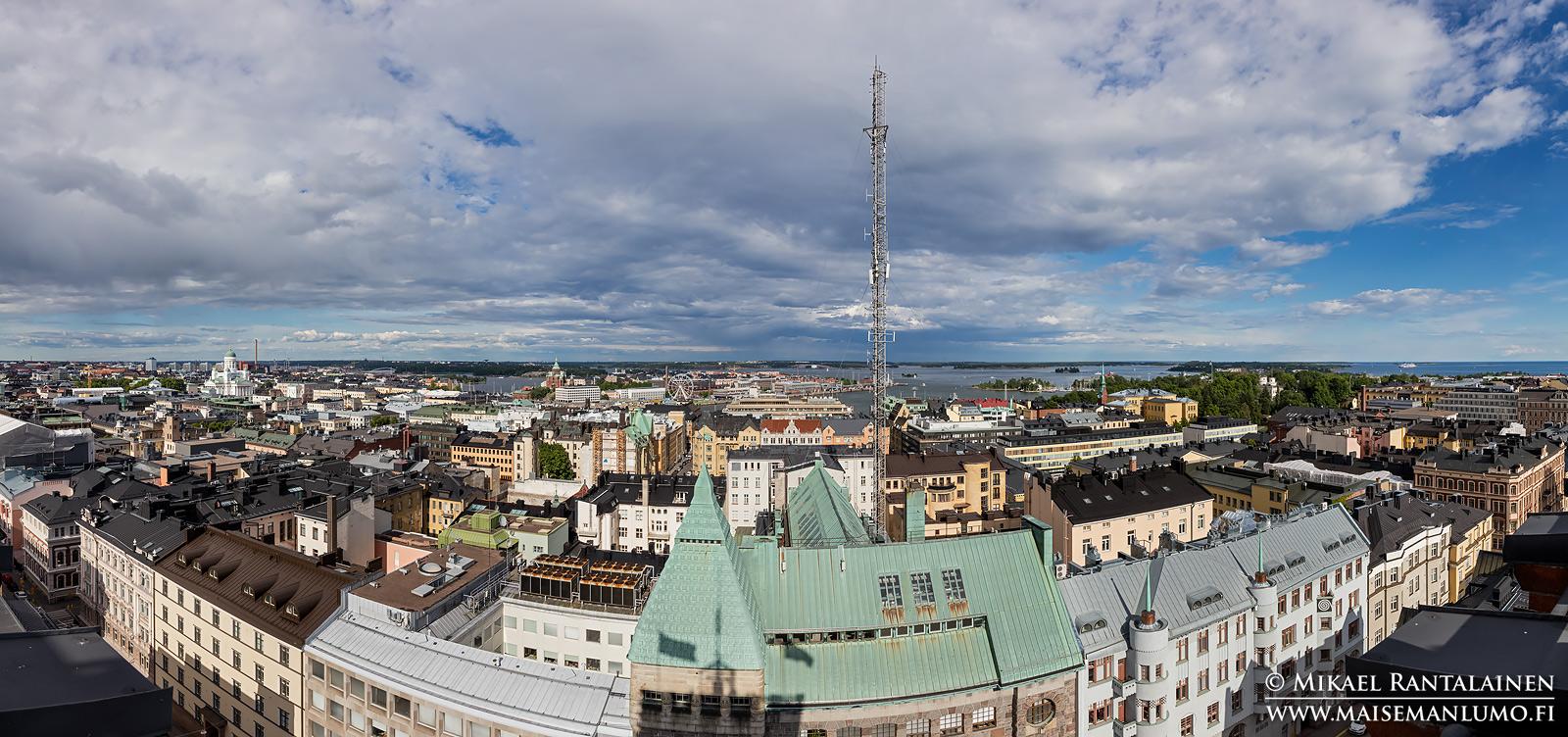 Näkymä Erottajan paloasemalta itään, Helsinki (HP169)