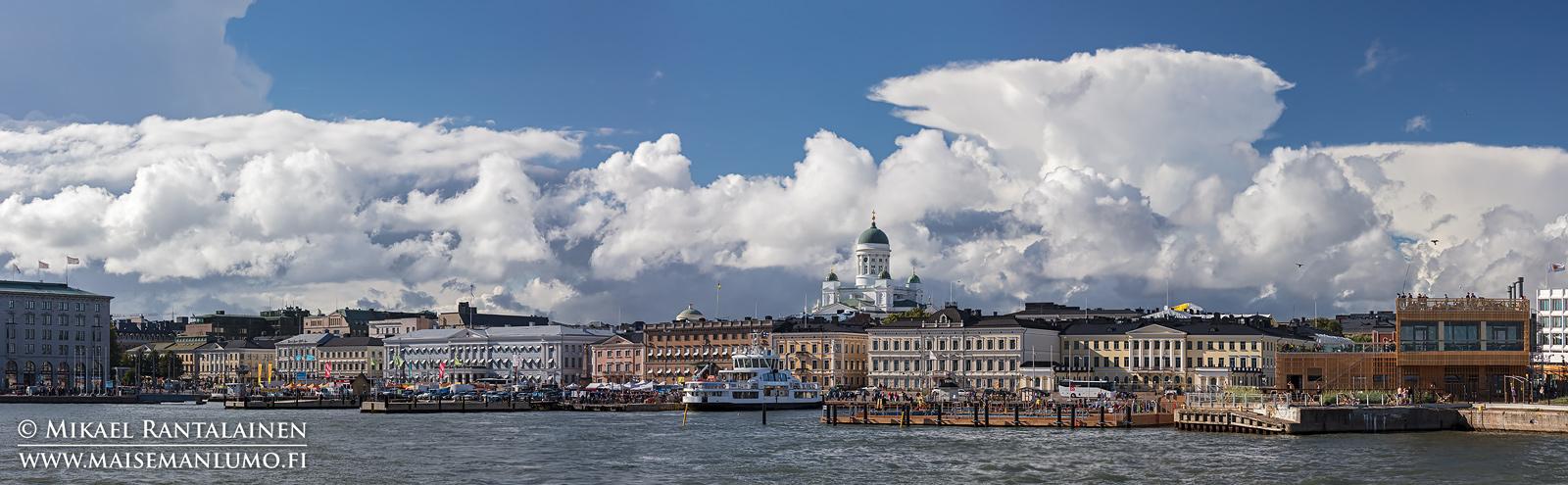 Kauppatori ja Tuomiokirkko, Eteläsatama, Helsinki (HP158)