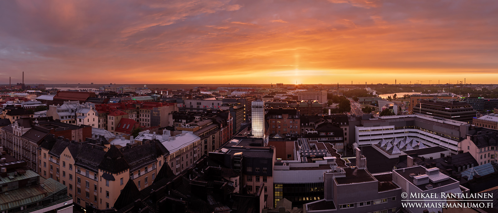 Panoraama Hotelli Tornista, Helsinki (HP195)