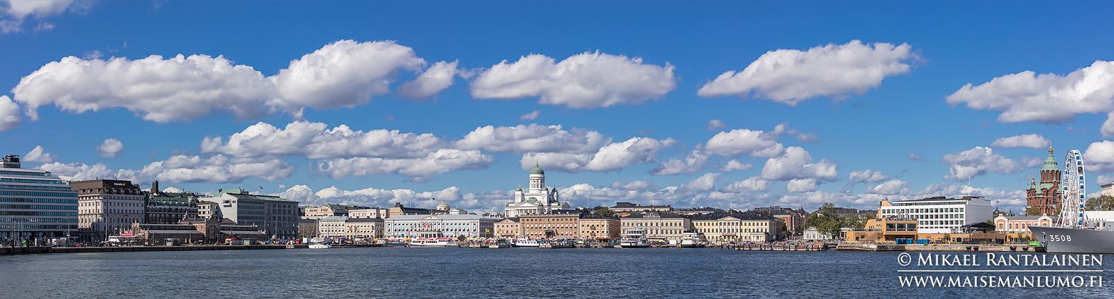 Helsingin siluetti Vallisaaren lautalta (HP201)