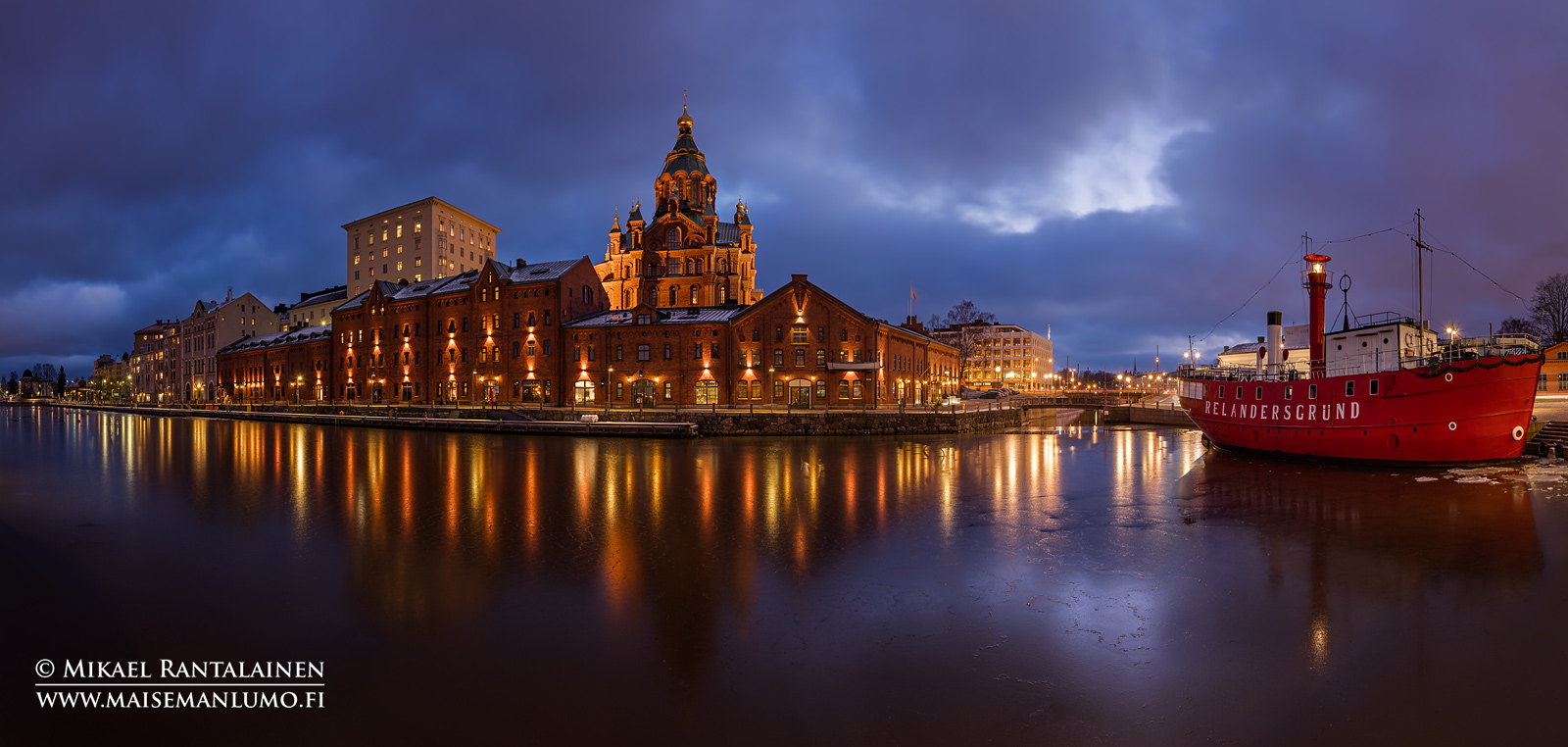 Kanavaranta ja Uspenskin katedraali, Helsinki (HP149)