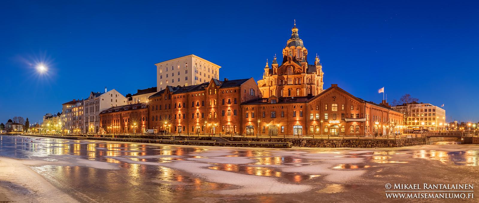 Kanavaranta ja Uspenskin katedraali, Helsinki (HP153)