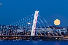 Crusellin silta Jätkäsaaren ja Ruoholahden välissä, Helsinki (HP121)