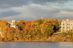 Ruskaa Töölönlahdella, Helsinki (HP173)