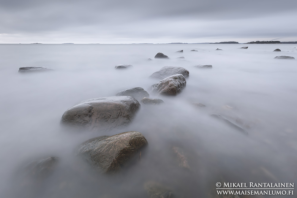 Lauttasaari (110 sekunnin valotus)