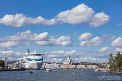 Helsingin siluetti Vallisaaren lautalta (HK545)