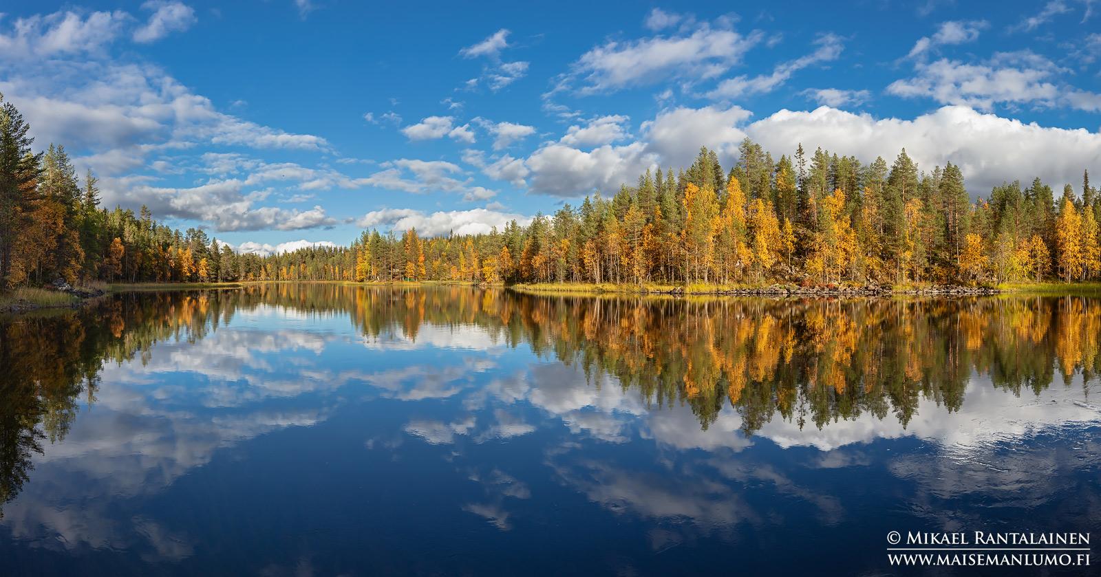 Myllykosken yläpuolinen suvanto, Kuusamo (PK116)