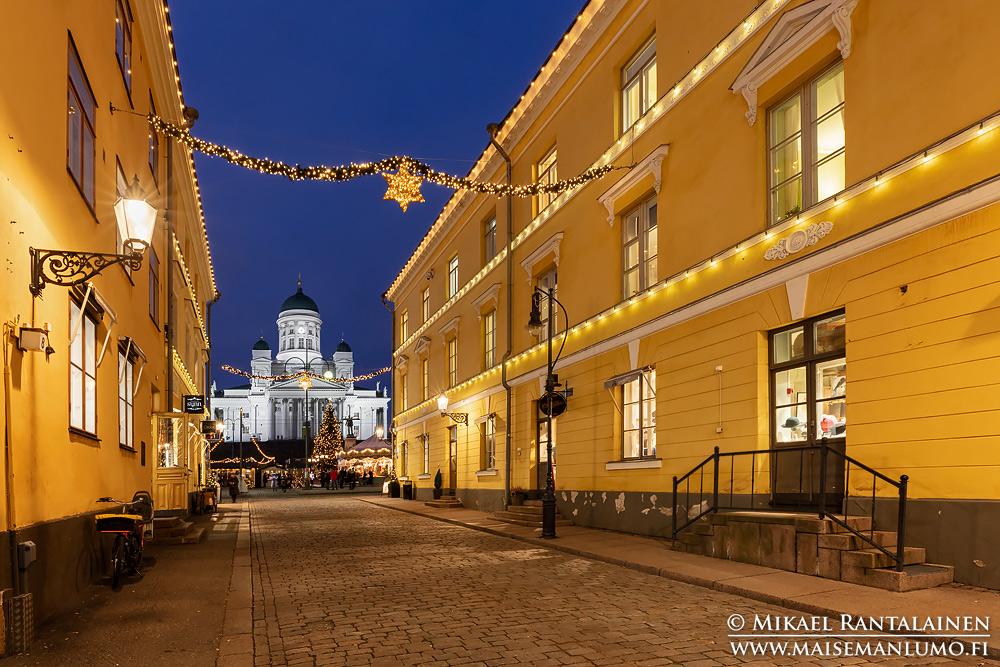 Sofiankadun jouluvalot, Helsinki