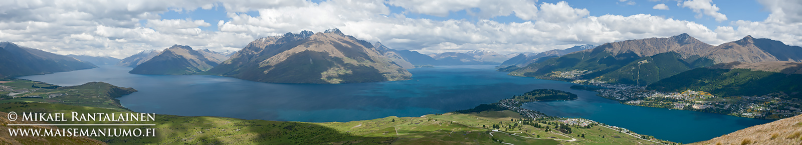 Wakatipu-järvi ja Queenstown, Uusi-Seelanti (PU105)