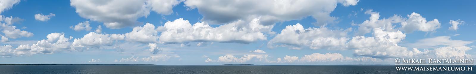 Näkymä Muhu - Virtsu lautalta, Viro (PU112)