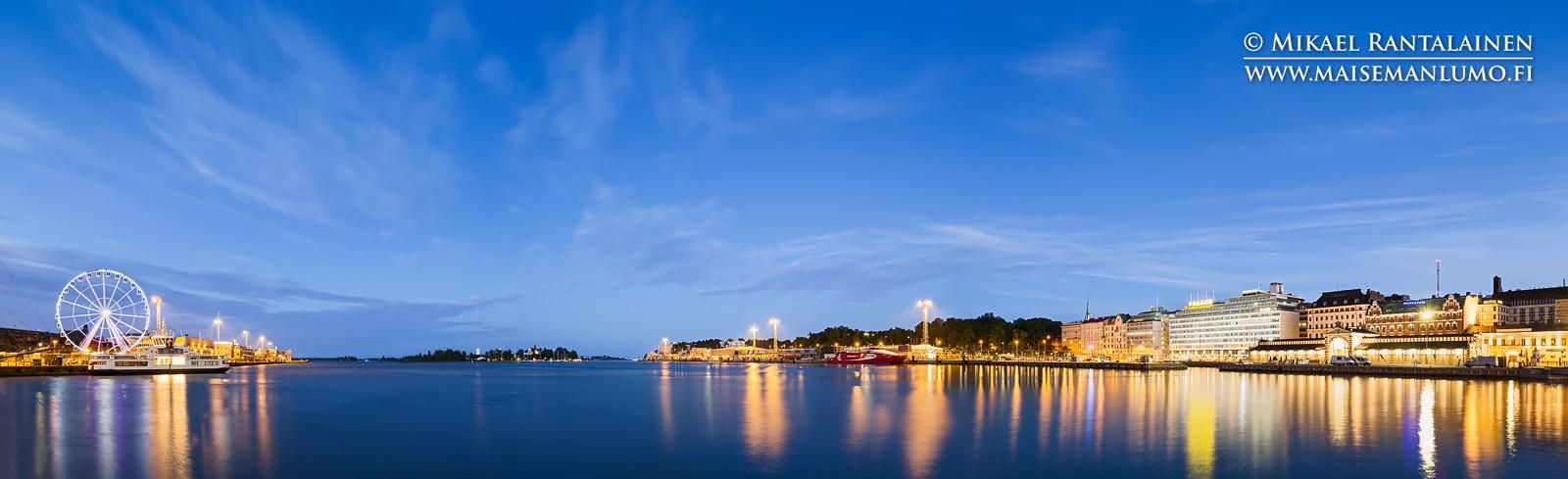 Kesäyö Eteläsatamassa, Helsinki (HP133)