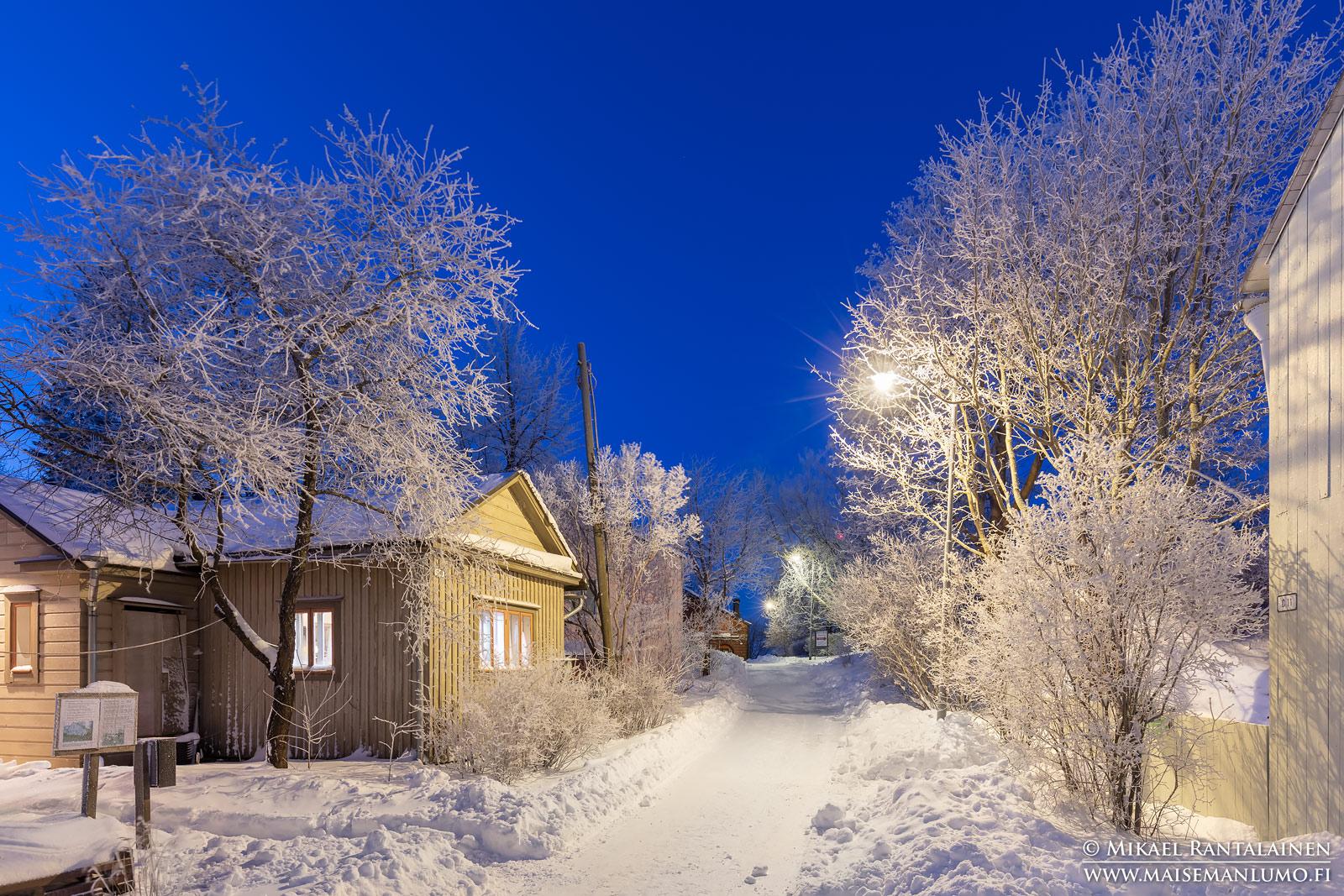 Huurteinen Suomenlinna, Helsinki
