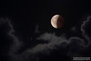 Osittainen kuunpimennys, Sipoo (elokuu 2018)