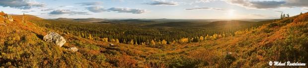 Laukkukero, Pallastunturi / Linkki Panoraamakuvia - Suomi galleriaan