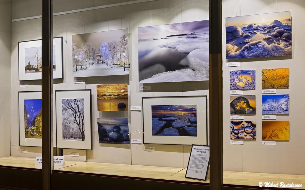 Mikael Rantalaisen näyttely Kaken Kehyksen ikkunassa Lauttasaaressa