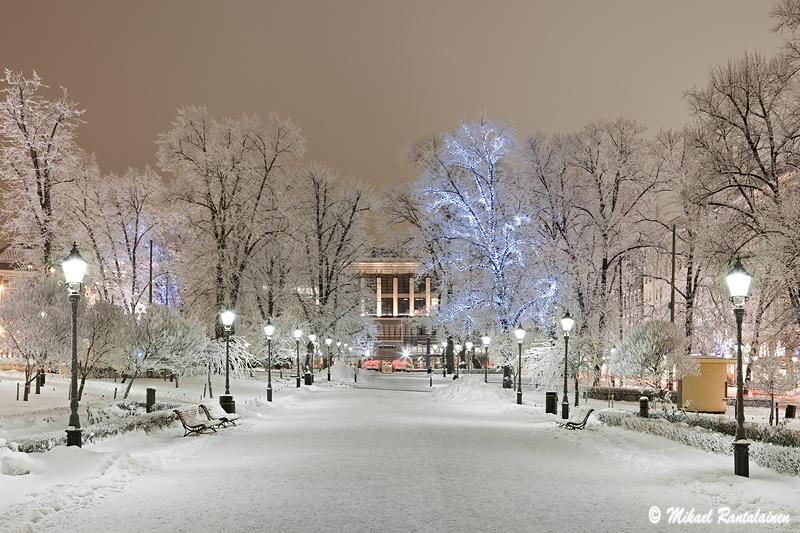 Talven taikaa Espalla, Esplanadin puisto, Helsinki