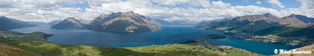 Wakatipu-järvi ja Queenstown, Uusi-Seelanti