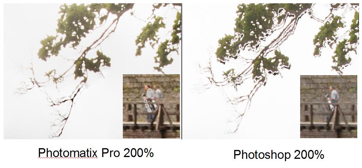 Haamujen poisto HDR-kuvasta automaattisesti