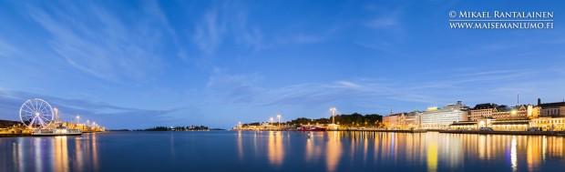 Eteläsatama, Helsinki / Linkki Helsinki Panoraamat - Sininen hetki ja yö -galleriaan