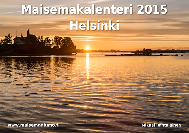 Helsinki 2015 Maisemakalenteri - Kansikuva