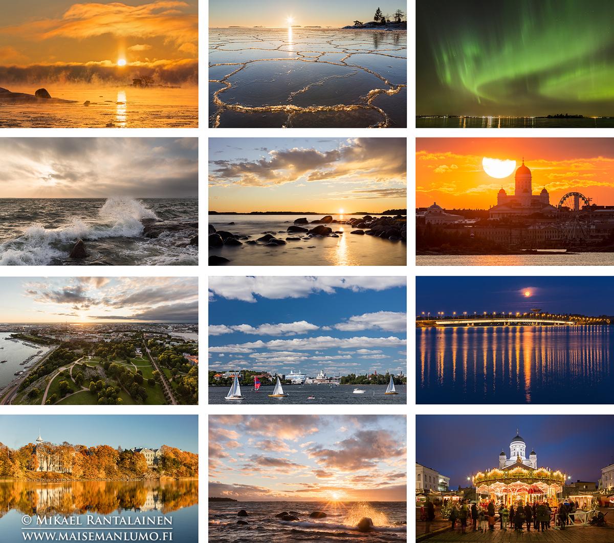 Helsinki kalenterin kuvat