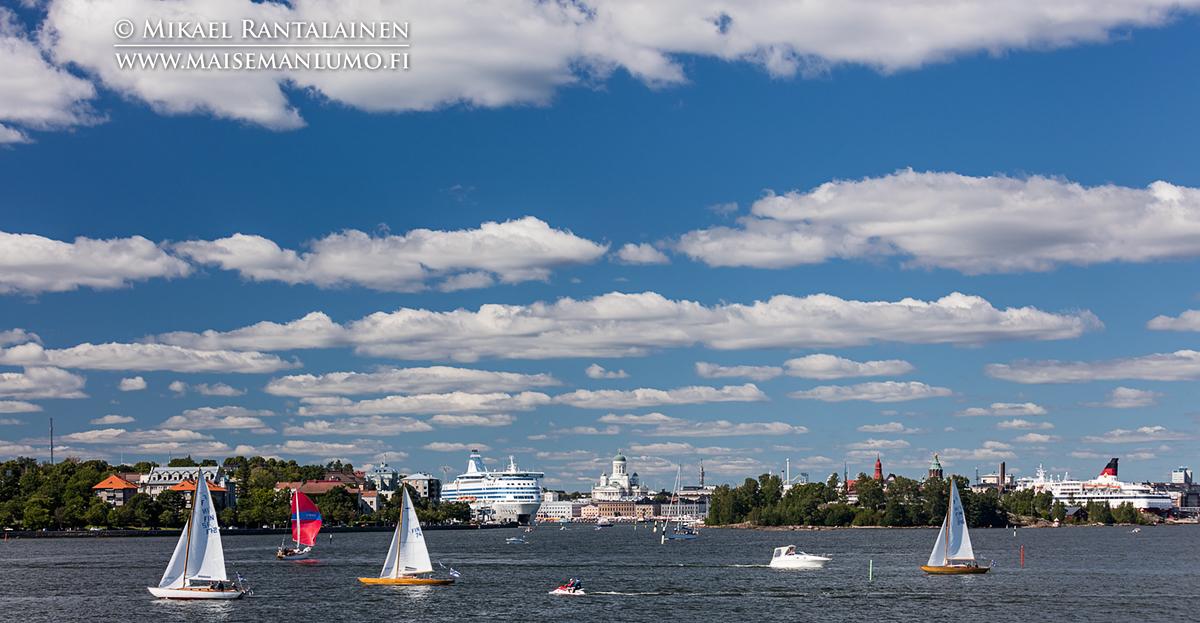 Helsinki Suomenlinnasta (yksi valotus)
