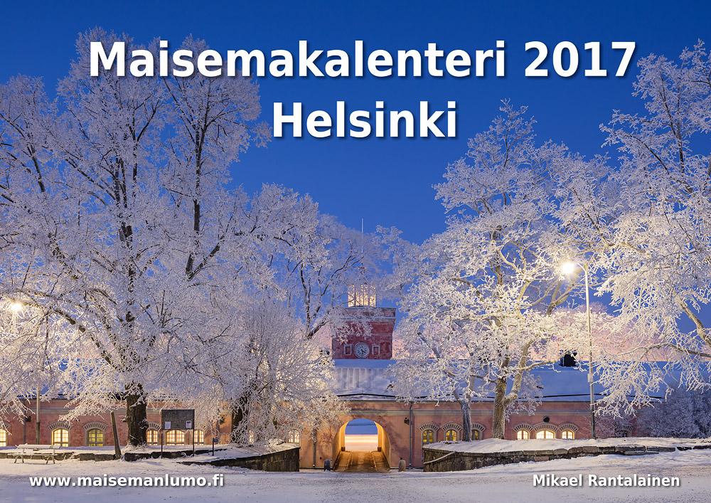 Helsinki seinäkalenteri 2017 - Kansilehti