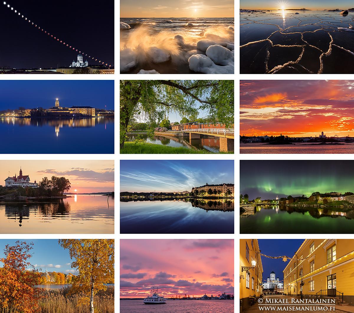 Helsinki Maisemakalenteri 2020