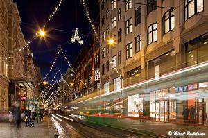 Aleksanterinkadun jouluvalot, Helsinki