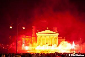 Uudenvuoden ilotulitus, Senaatintori, Helsinki