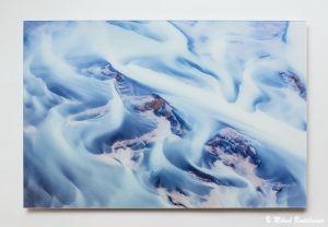 Hvítá, Akryylivalokuva, 50x75 cm, 580 euroa