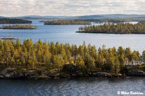 Näkymä Ukolta, Inarijärvi, Inari