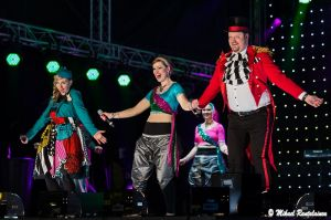 Sanna Stellan, Sami Hedberg ja Bolly Beat Dancers