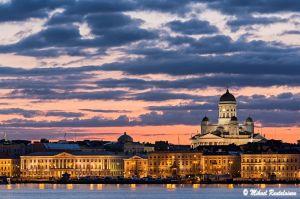 Helsingin horisontti Valkosaaresta