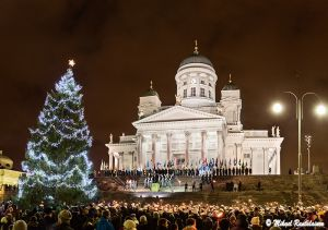 Itsenäisyyspäivän juhla, Senaatintori, Helsinki