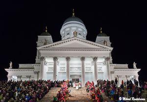 Lucian päivän kulkue, Senaatintori, Helsinki