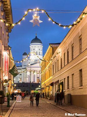 Sofiankatu ja Tuomiokirkko, Helsinki