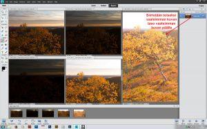 Siirretään kuvat päällekkäisiksi tasoiksi, raahataan tasot halutun kuvan päälle (paina Shift kun pudotat tason, niin päällimmäinen taso tulee keskelle)