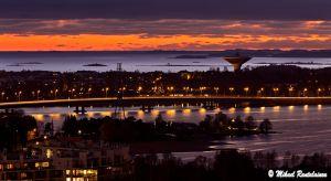Lapinlahden silta ja Lauttasaari
